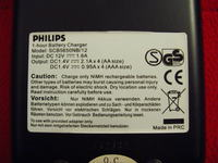 Ładowarka Philips SCB5650NB/12 i dziwne ogniwa Stamina.