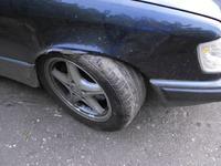 Mercedes w124 300D Skrzypienie podczas skręcania
