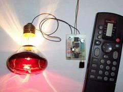 Ściemniacz lamp sterowany pilotem