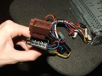 Sposób podłączenia radia Panasonic RD825...