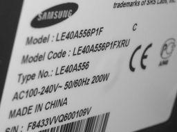 Odmowa reklamacji LCD SAMSUNG LE40A551