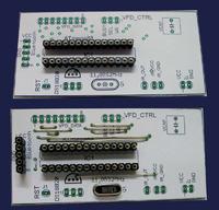 Mini REKLAMA VFD (zegar, DS1820, Bluetooth, Podczerwień)