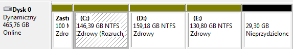 Ubuntu jako drugi system po Windows 7 - zagubiony w�r�d partycji