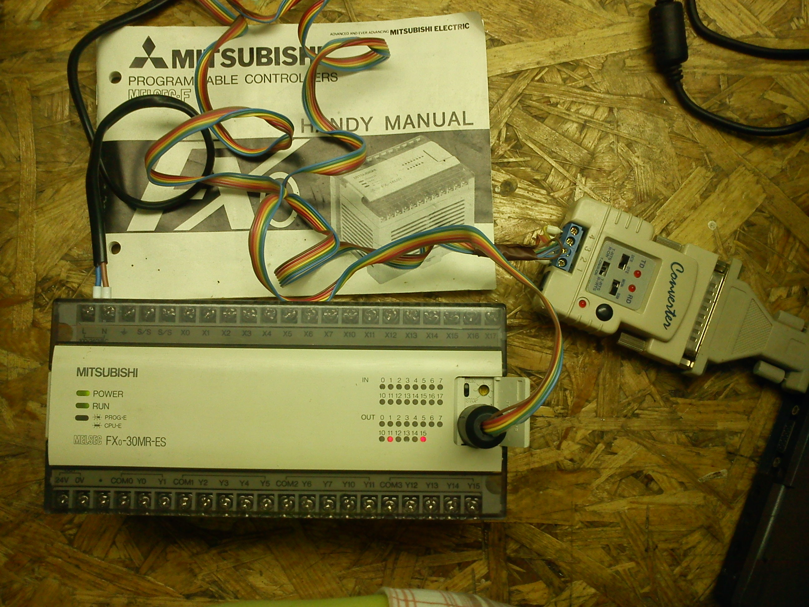 [Sprzedam] PLC MITSUBISHI FX0-30MR-ES