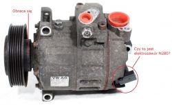 Audi A3 8P 1.6 2004, nie działa klimatyzacja, błąd VCDS 01274 (V71)