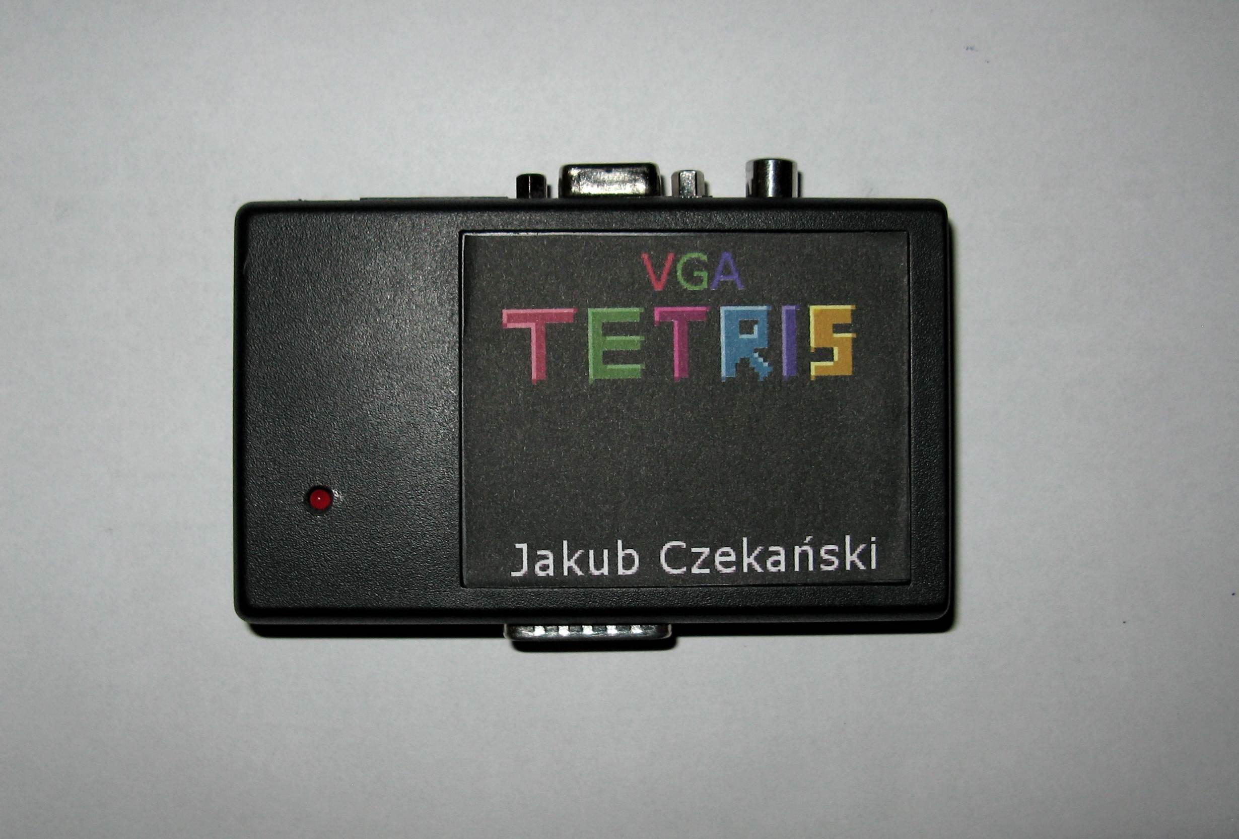 VGA Tetris - projekt na konkurs Gra Retro