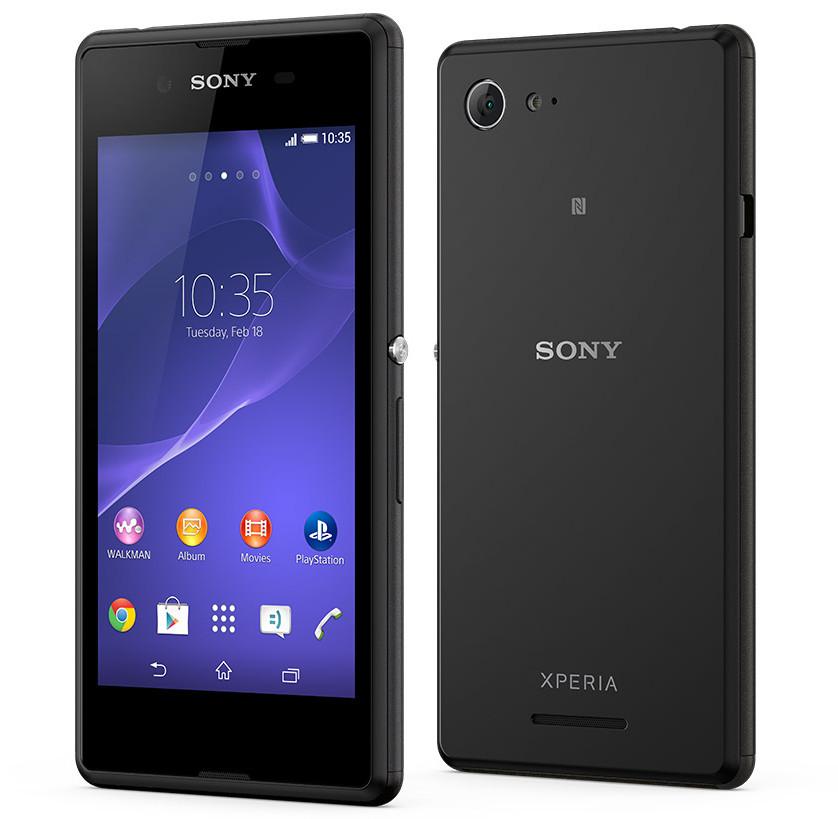 "Sony Xperia E3 - smartphone z 4,5"" ekranem, Snapdragon 400, LTE i Dual SIM"