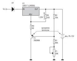 Ładowanie buforowe akumulatora 6V