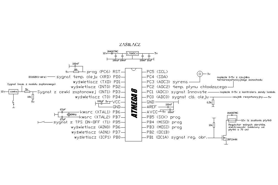 Atmega8 [Bascom] - B��dny odczyt obrot�w, zak��cenia od elektrozaworu