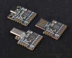 Serpente R2 - płytka prototypowa z SAMD21 i USB-C