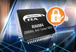 Nowe mikrokontrolery R6M4 z rdzeniem ARM Cortex-M33 od Renesasa