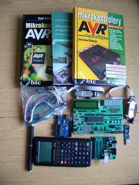 [NIEAKTAULNE] Zestaw uruchomieniowy AVR ATMEGA-16 wersja 2 + dużo gratisów ;)