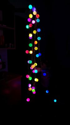 DIY Lampki choinkowe WS2812B