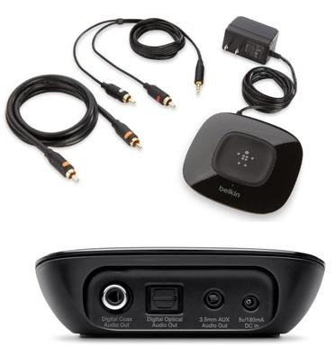 Belkin G3A2000 - bezprzewodowy odbiornik muzyczny HD Bluetooth