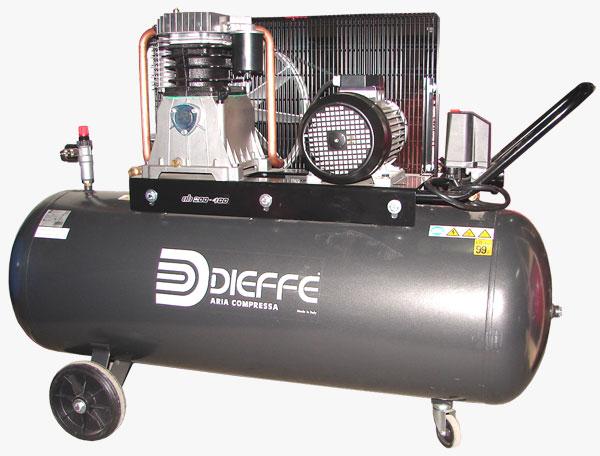 Kompresor, naprawa spr�arki Dieffe
