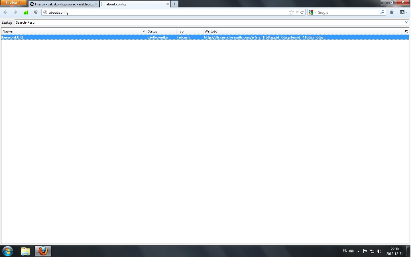 Firefox - Jak zkonfigurowa�