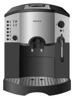 Krups F860, jura, orchestro - regulacja czasu mielenia m�ynka - moc kawy