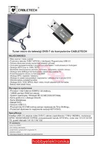 Jaki tuner DVB-T na USB możecie polecić?