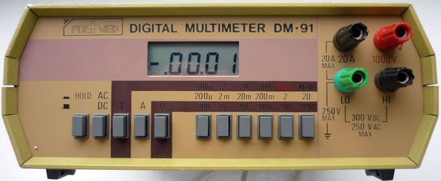DM-91 Digital multimeter - Szukam instrukcji i schematu