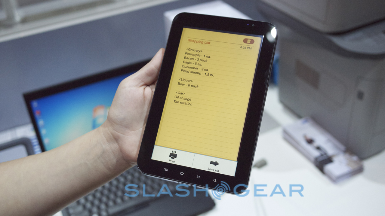 Samsung stawia na bezprzewodowe drukowanie MobilePrint App