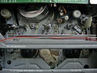 GoldStar VCP-4200P AC/DC zatrzymuje taśmę po wciśnięciu PLAY