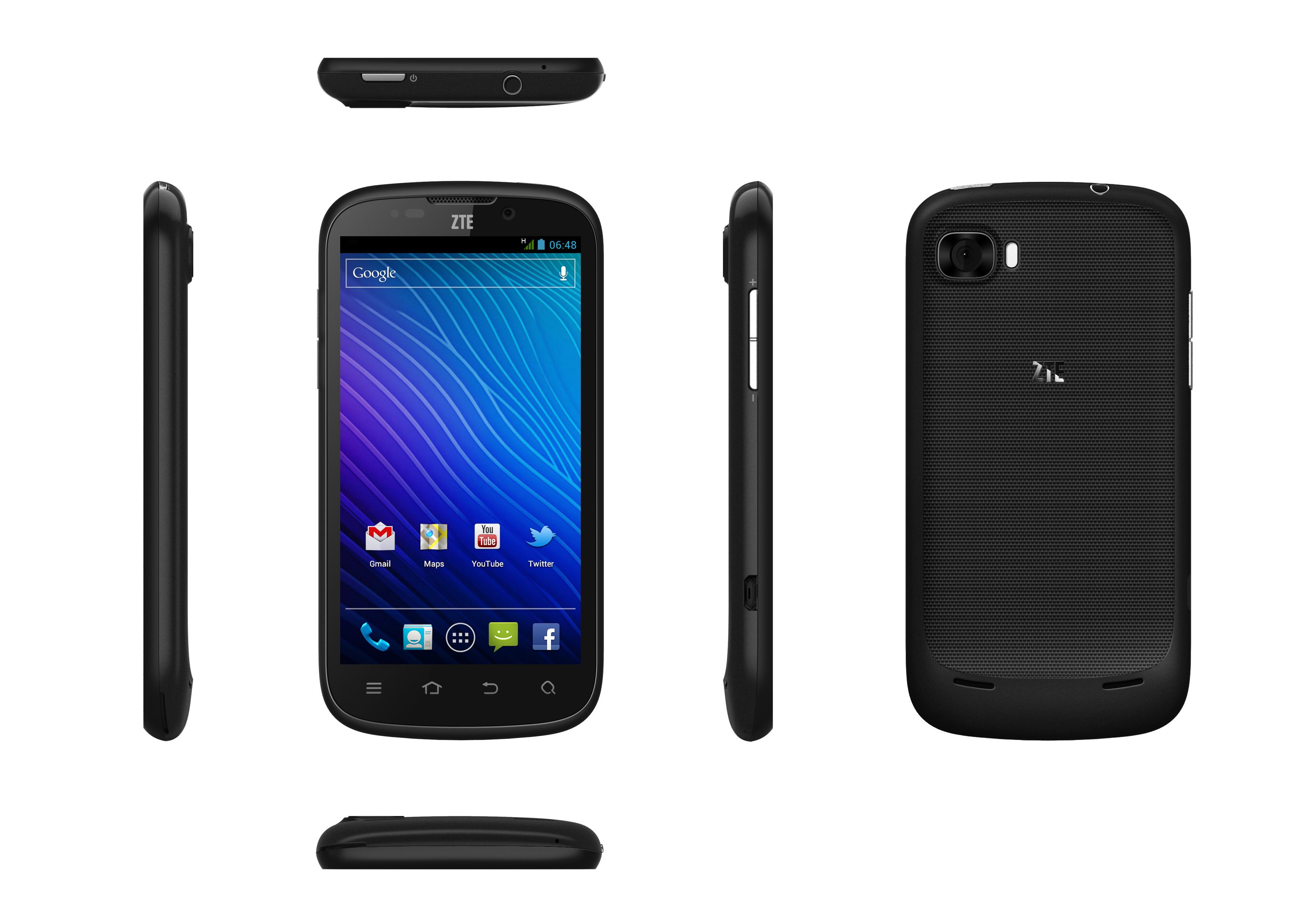 """ZTE Grand X - smartphone z ekranem 4,3"""" ekranem, Android 4.0 w sprzeda�y"""