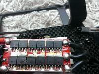 Regulator ESC Redox 40A - Jaki tranzystor w stopniu mocy.