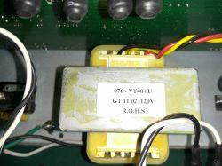 Wzmacniacz gitarowy VOX VT40+ - dobór transformatora