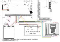 SATEL Perfecta 32 WRL prośba o sprawdzenie schematu połączeń + komponentów