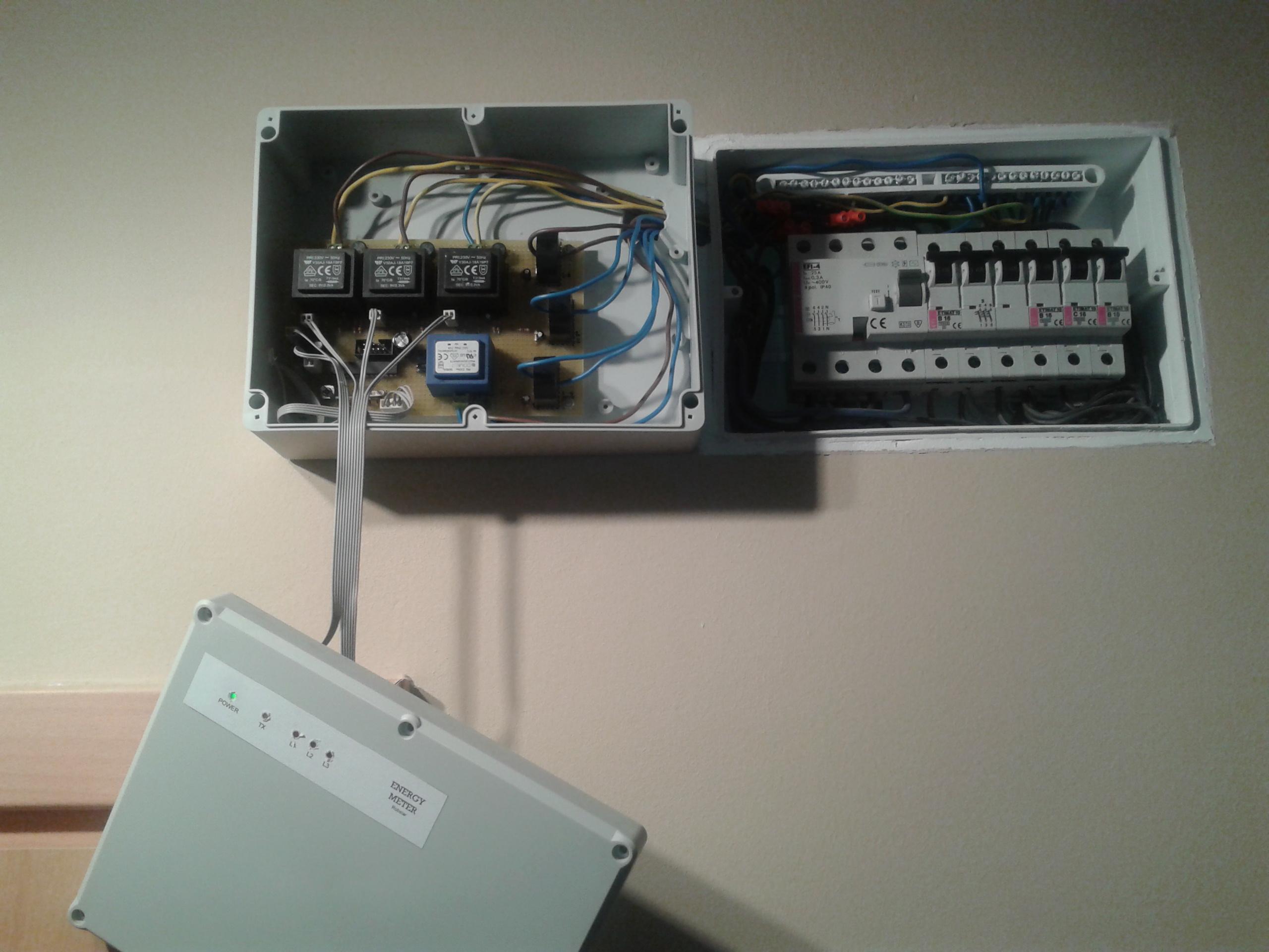 Ethernetowy Miernik Energii Elektrycznej 3 fazowy