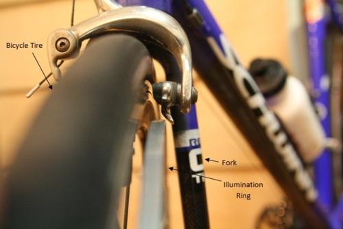 Rower z bajeranckim o�wietleniem