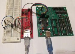 Programator PIC/AVR na USB wraz z podstawkami