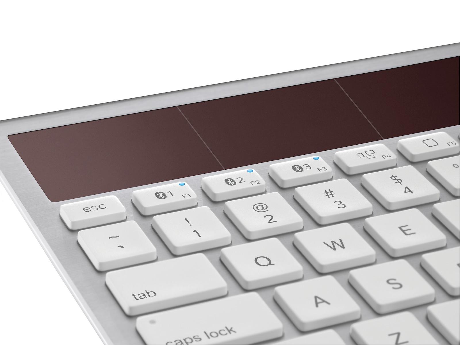 Logitech K760 - klawiatura jak Apple Wireless Keyboard z ogniwem s�onecznym