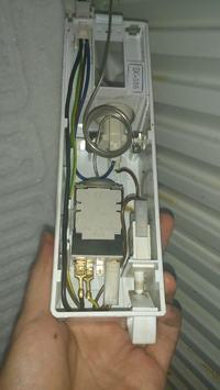 Podłączenie termostatu ATEA W4 A13 1000 lodówka Polar Cz340