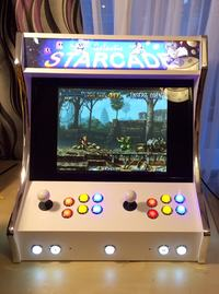 "Bartop Arcade - z cyklu ""zrób to sam""."