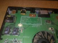 Fujitsu-Siemens Esprimo Mobile - Wymiana stycznika klawisza touchpada