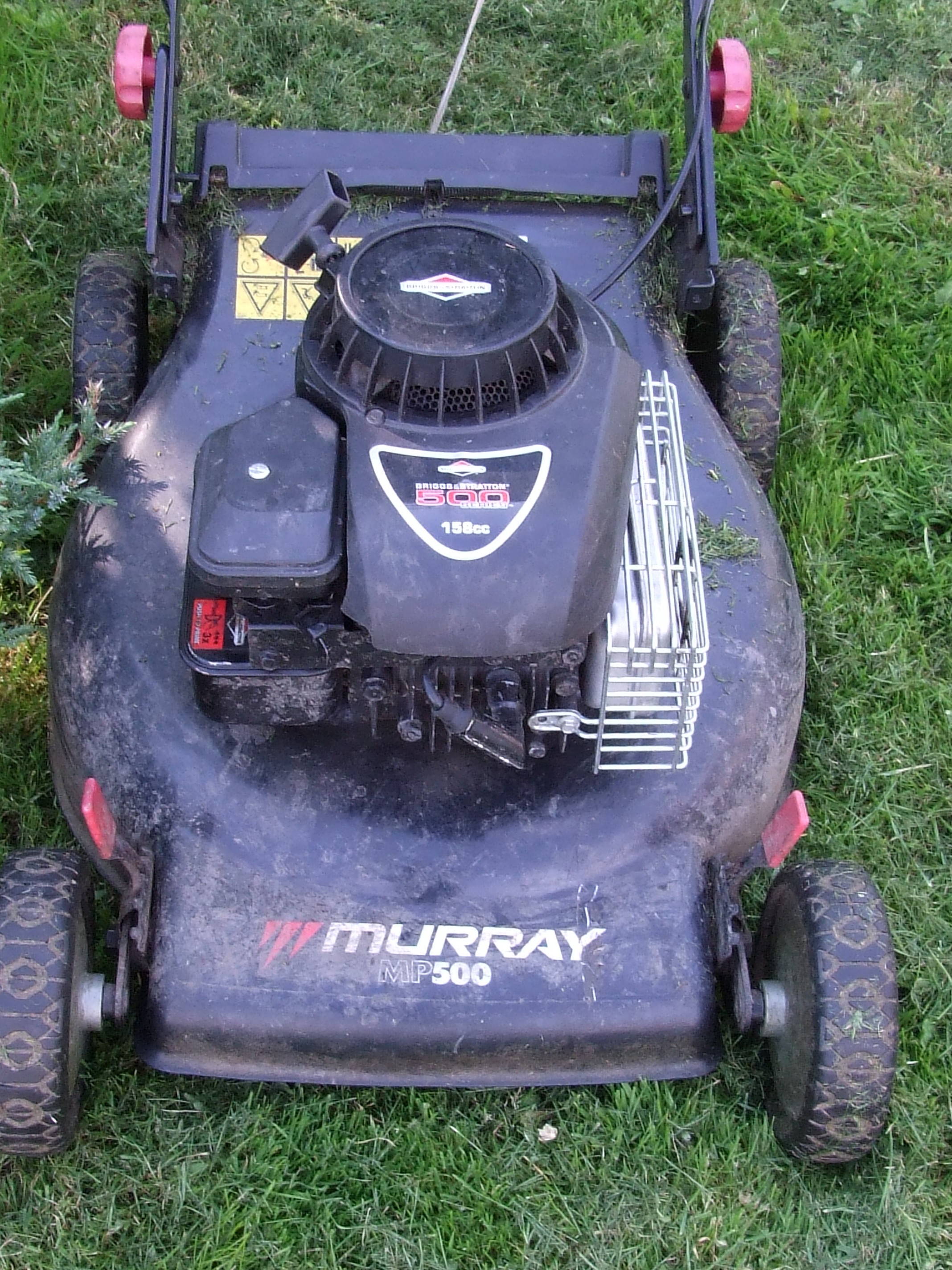 Kosiarka do trawy MURRAY MP500 - skrzywiony wa� korbowy - gdzie naprawi�?