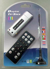 Digital TV - StiCK HDTV USB DVB-T