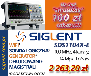 Oscyloskop cyfrowy Siglent SDS1104X