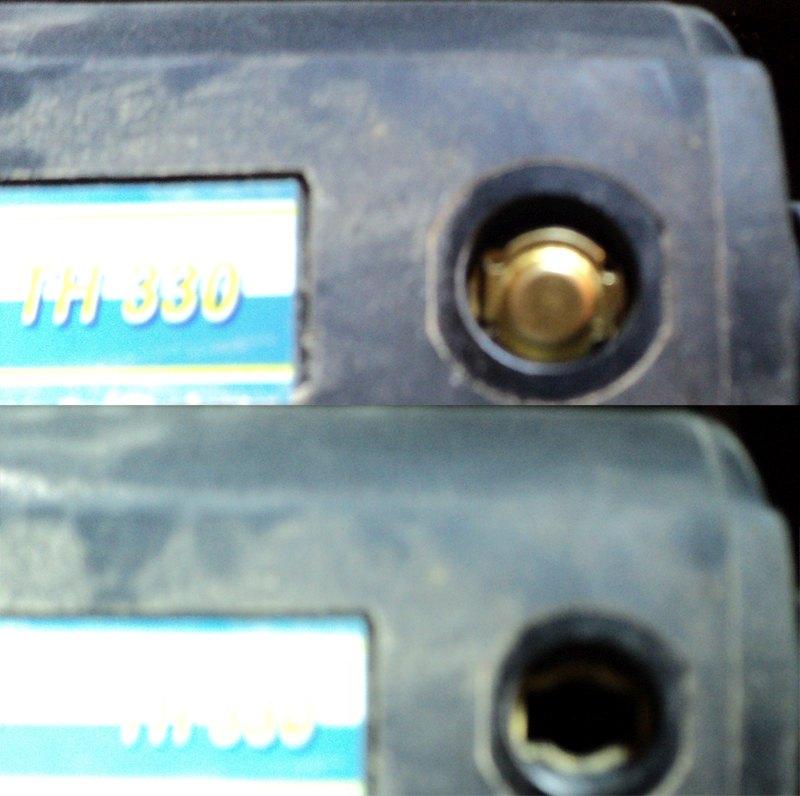 Szczotka węglowa do grubościówki BERNARDO TH 330
