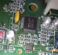 Pralka Candy ACS 840 - moduł usera nie działa, po naprawie wyświeta E01