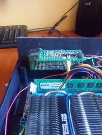 Komputer klasy HTPC PVR w obudowie Z17.
