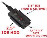 AK99B ADAPTER SATA IDE USB  - Przej�ci�wka nie dzia�a prawid�owo w Windows 7