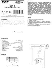 Zabezpieczenie sprężarki z silnikiem 4kW