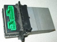 Regulator dmuchawy Renault Scenic II - uszkodzony kondensator.