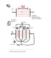Pojemno�� powsta�ego kondensatora p�askiego po wsuni�ciu elektrod