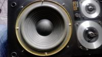 Kolumny Onkyo D1R - wymiana głośników niskotonowych