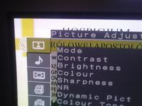 Plazma Sony KE-32TS2E mroczki na jasnym tle