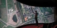 10 metrowy ekran dotykowy na Uniwersytecie Groningen