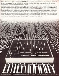 Electro-Harmonix Bass Micro Synthesizer - szukam PCB